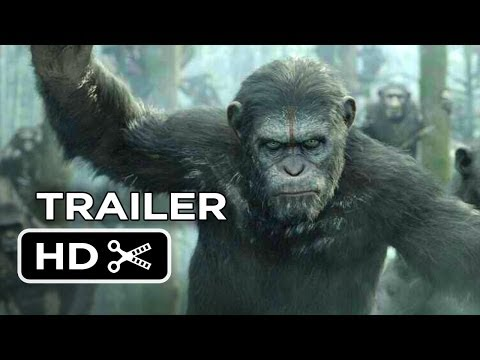 Dawn Of The Planet Of The Apes Official Trailer #1 (2014) - Gary Oldman Movie HD,