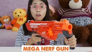 MỞ HỘP VÀ CHƠI THỬ MEGA NERF GUN