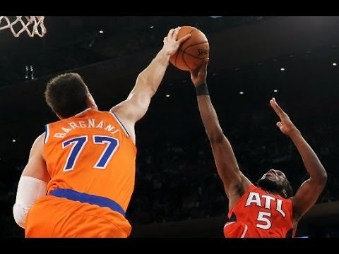 Andrea Bargnani - Atlanta Hawks @ New York Knicks (Nov 16, 2013)