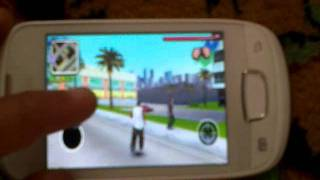 watch video samsung galaxy mini gaming gangstar west coast hustle