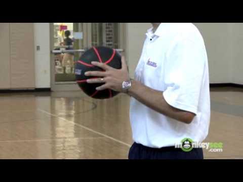 Basketball Passing - Chest Pass