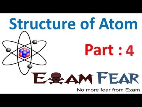 Chemistry Structure of Atom part 4 (Charge to mass ratio of electron) CBSE class 11 XI