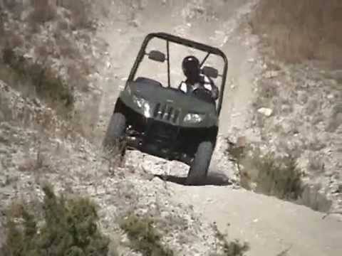 2009 Arctic Cat Prowler XT 550 and XTZ 1000 EFI Test