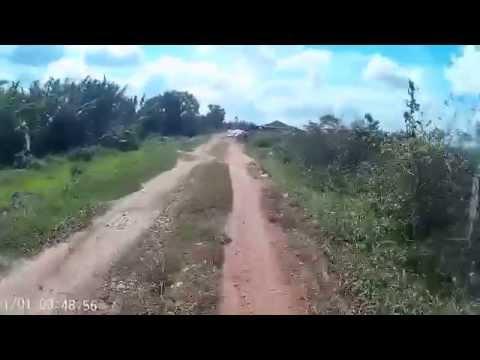 những nẻo đường miền tây  - action cam sj4000 video test
