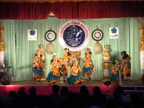 Group Dance - Uthara and Party Kerala school kalolsavam 2012 Thrissur