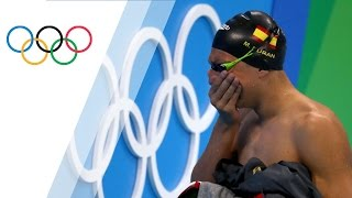 Second chance for a Spanish swimmer after leaving the pool in tears