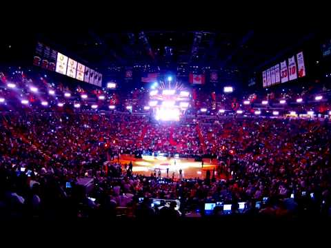 2014 Miami Heats Intro (Vs Portland Trail Blazers )