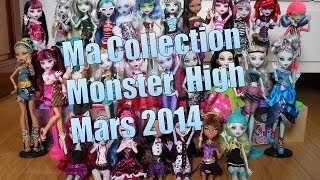Ma Collection Monster High Mars 2014