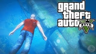 GTA 5: Secret Underwater $25,000 Briefcase Location