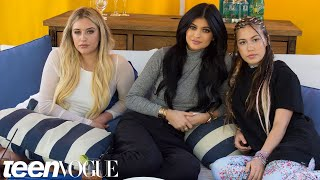 Kylie Jenner's Teen Vogue Cover Video