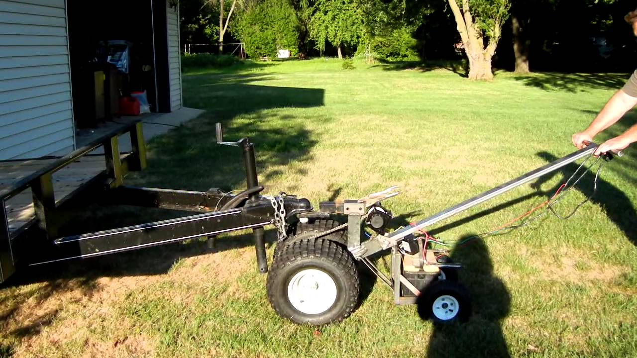 Motorized Trailer Dolly Youtube