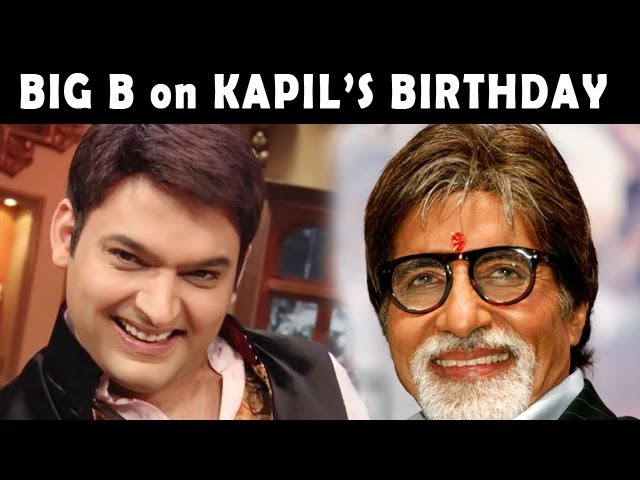 Comedy Nights with Kapil: Kapil Sharma to Celebrate his Birthday with Amitabh Bachchan
