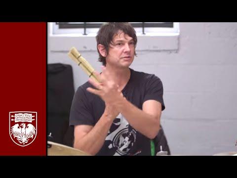 Wilco's Glenn Kotche, UChicago's Steven Rings deconstruct music