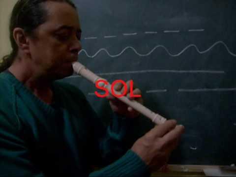 Luiz Araujo   Vídeo Aula 2   Flauta Doce