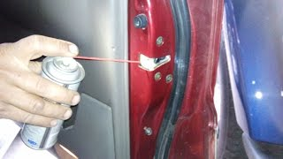 Bisagras de puertas de coche - Mantenimiento