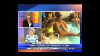 """Entrevista a investigadora Mary Penny en """"Mas que noticias"""" del canal ATV+"""