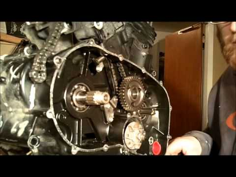 1985 Kawasaki VN750 Engine Rebuild - pt2 - YouTube