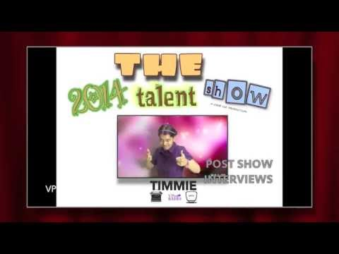 2014 Talent Show Post Show Interviews w/ Timmie - Trickstr