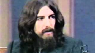 George Harrison with Dick Cavett Part 1
