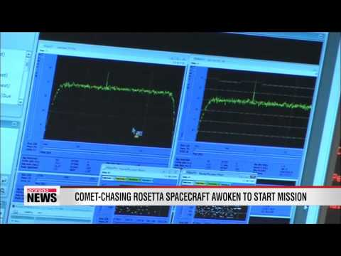 Comet-chasing Rosetta spacecraft awoken from deep slumber to start mission