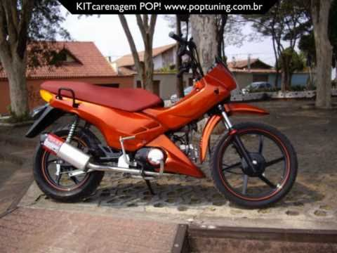 Pop 100 Equipada - Acessórios de Motos no Mercado Livre Brasil