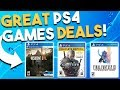 10 GREAT PS4 Game Deals Available RIGHT NOW Best Playstation 4 Game Deals