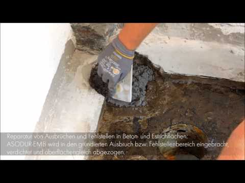 Schomburg - Reparieren mit ASODUR-EMB