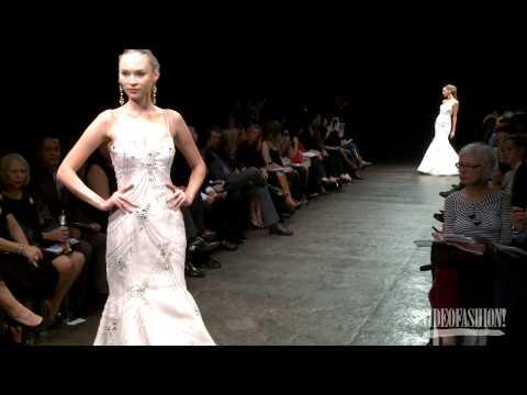 Lazaro Bridal Summer 2013 - Videofashion