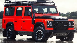 Land Rover Defender ADVENTURE Final Limited Edition 2015 Land Rover Defender Interior CARJAM TV HD