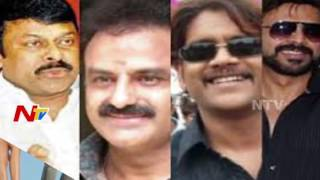 Tollywood Top Heroes Busy Busy With Shootings after Few Years