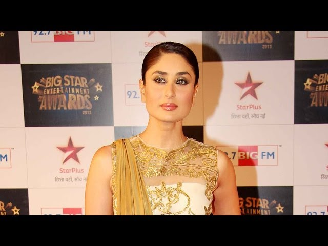 Video | 4th Big Star Entertainment Awards |  Kareena Kapoor Khan