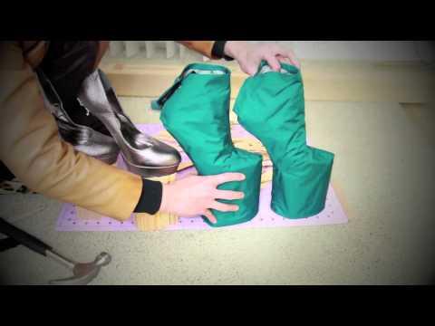 Туфли для куклы монстер хай своими руками