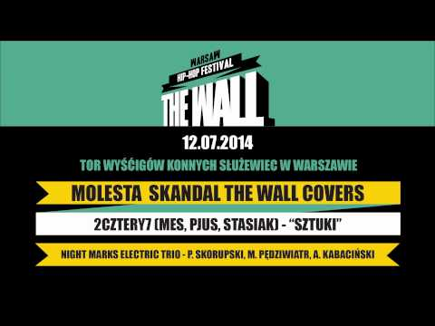 2cztery7 - Sztuki / The Wall Warsaw Hip-Hop Festival Skandal Covers