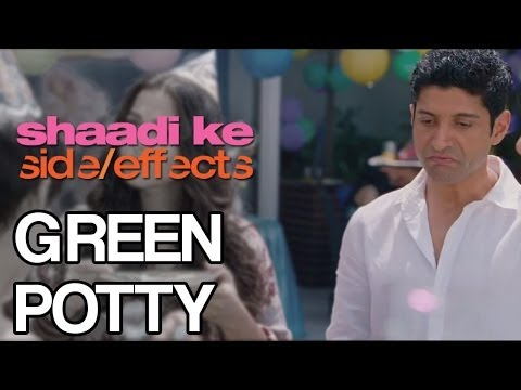 Shaadi Ke SIde Effects | Green Potty (Dialogue Promo)