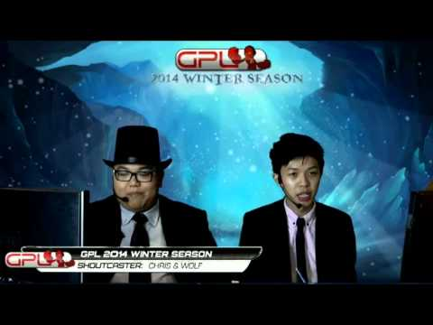 GPL Winter Quaterfinals  ahq e-Sports club vs Singapore Sentinels Game1