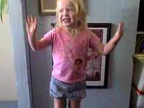 Girl in apple bottom jeans