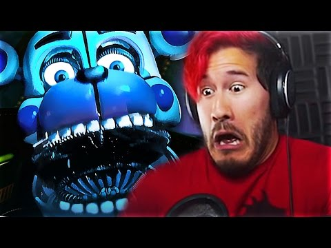 Top 5 Five Nights At Freddys Sisters Location YOUTUBER JUMPSCARES! (FNAF Sisters Location)