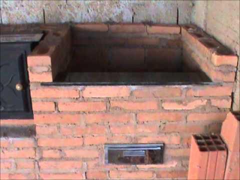 Como fazer sua própria churrasqueira, fogão e forno de tijolinho