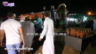 بالفيديو..شوفو أكبر طنجية بساحة جامع لفنا بمراكش |
