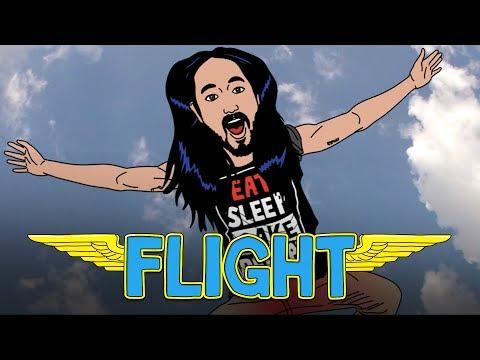 Steve Aoki & R3HAB - Flight cмотреть онлайн