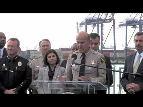 Mayor Eric Garcetti, Sheriff Baca and Local Officials Announce Nuclear Defense Grant