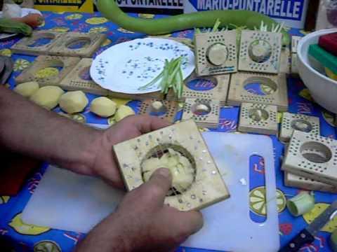 Taglia patate a fette