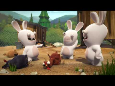 Rabbids Invasion - Omelet Party