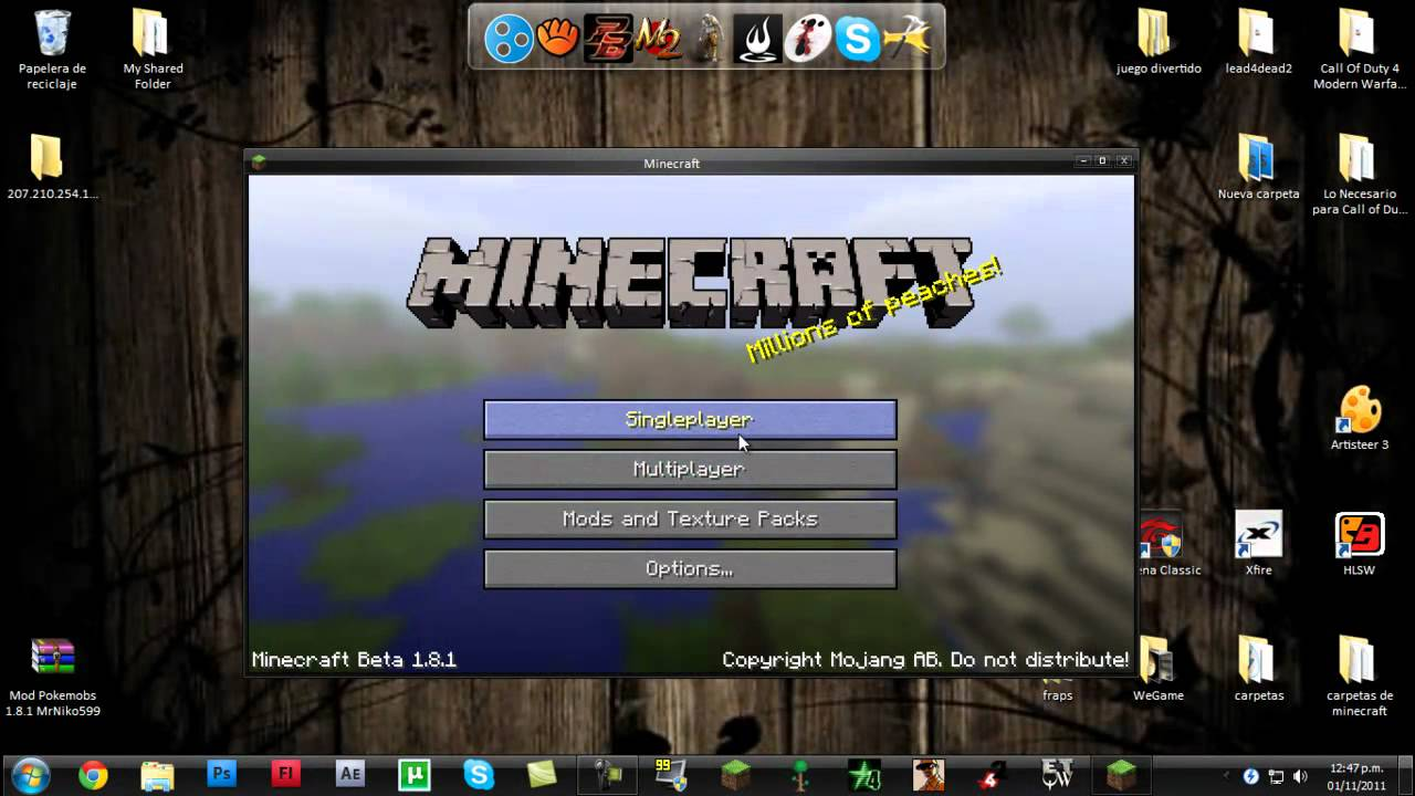 descargar mods para minecraft 1.8.1