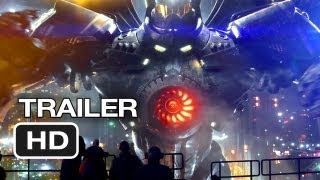 Pacific Rim Official Wondercon Trailer (2013) Guillermo
