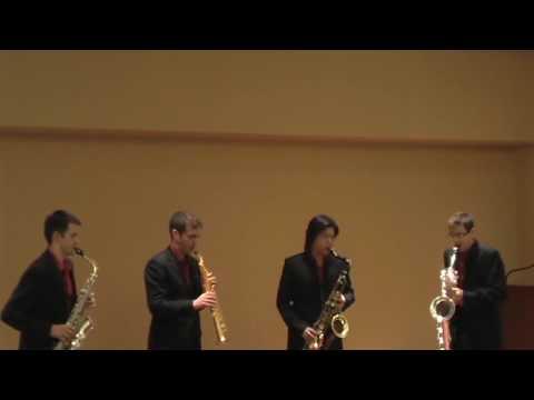 Motet: Ave verum corpus, by William Byrd arr. O'Connor / Red Line Sax Quartet