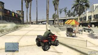 GTA 5 Vespucci Beach Massacre With Franklin