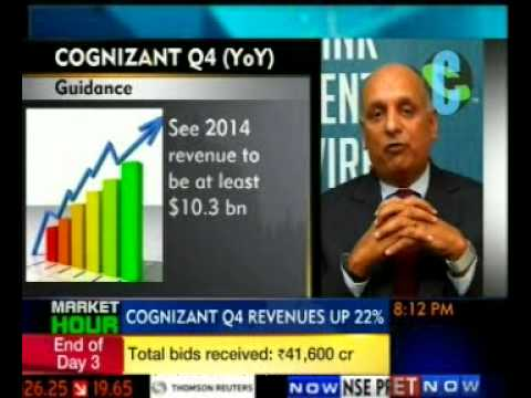Cognizant Q4 2013 earnings call ET now