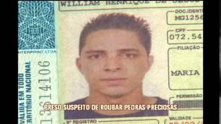 Preso em Belo Horizonte suspeito de roubar pedras preciosas em Caxambu