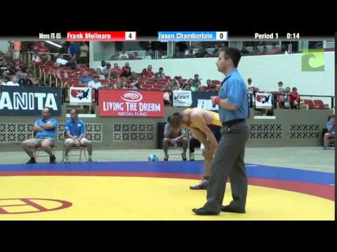 65 KG - Frank Molinaro vs. Jason Chamberlain